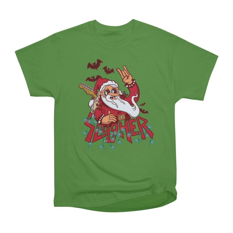 Christmas Sleigher Men's Classic T-Shirt by Jesse Nickles