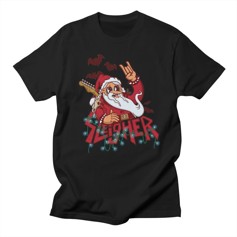 Christmas Sleigher Men's T-Shirt by Jesse Nickles