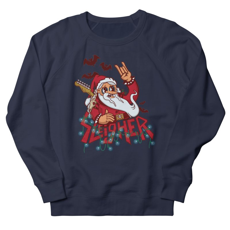 Christmas Sleigher Men's Sweatshirt by Jesse Nickles