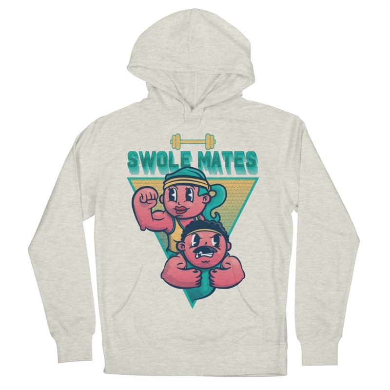 Swole Mates Women's French Terry Pullover Hoody by Jesse Nickles