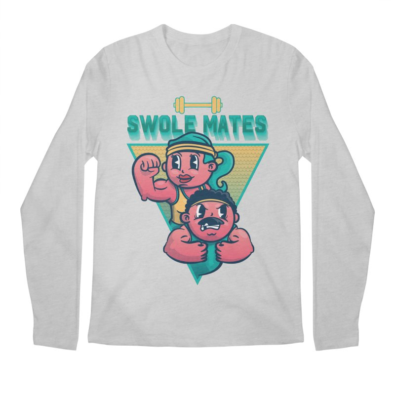 Swole Mates Men's Regular Longsleeve T-Shirt by Jesse Nickles