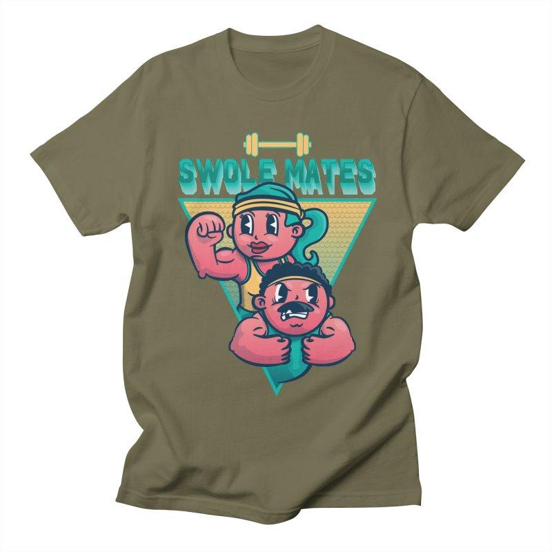 Swole Mates Women's Regular Unisex T-Shirt by Jesse Nickles