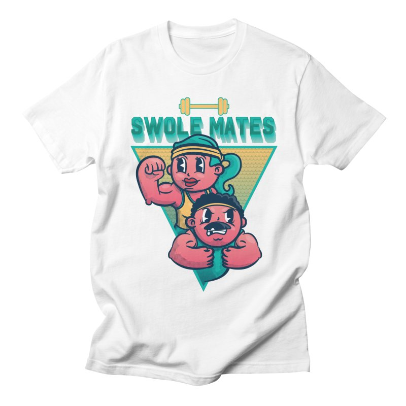Swole Mates Men's Regular T-Shirt by Jesse Nickles