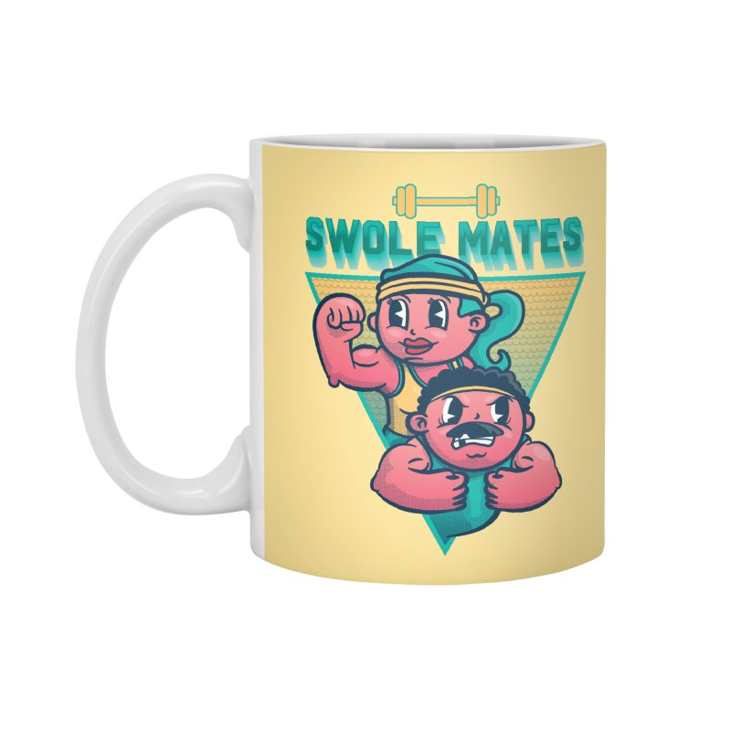 Swole Mates Accessories Mug by Jesse Nickles