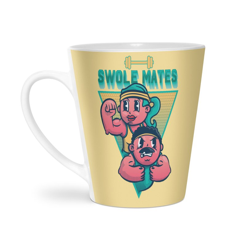 Swole Mates Accessories Latte Mug by Jesse Nickles