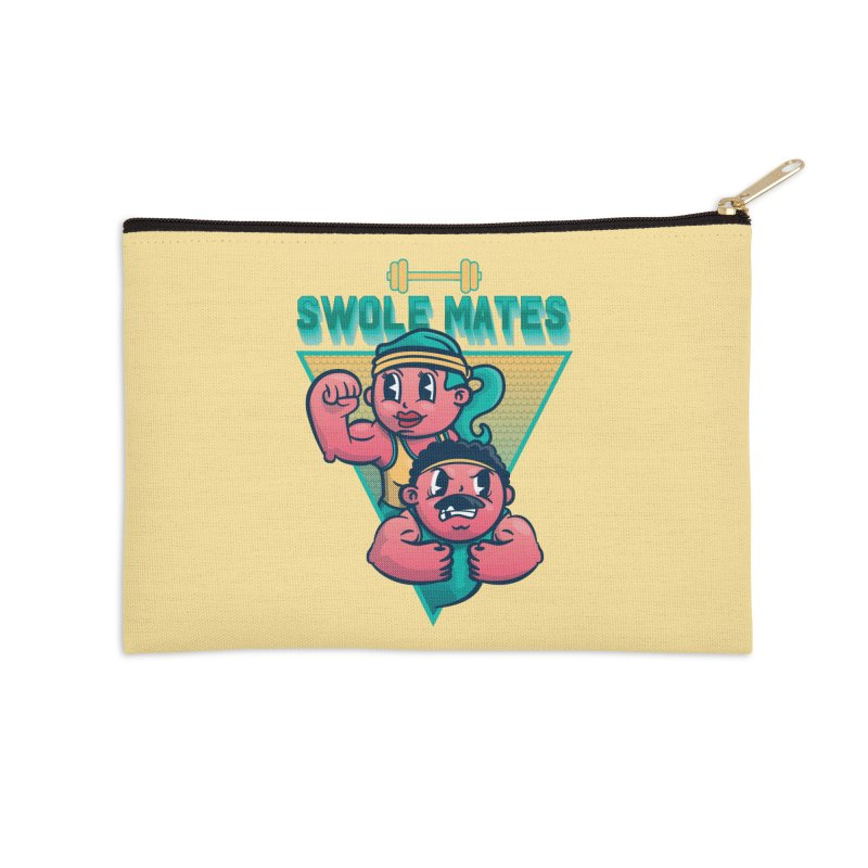 Swole Mates Accessories Zip Pouch by Jesse Nickles