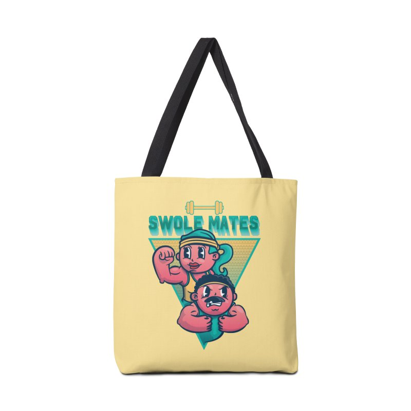 Swole Mates Accessories Tote Bag Bag by Jesse Nickles