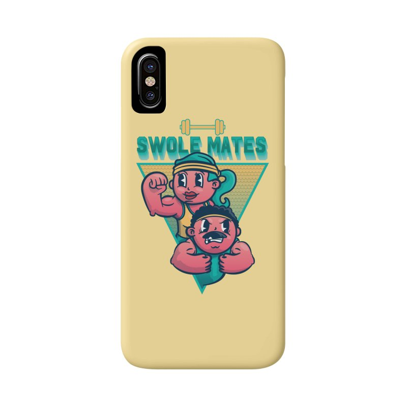 Swole Mates Accessories Phone Case by Jesse Nickles