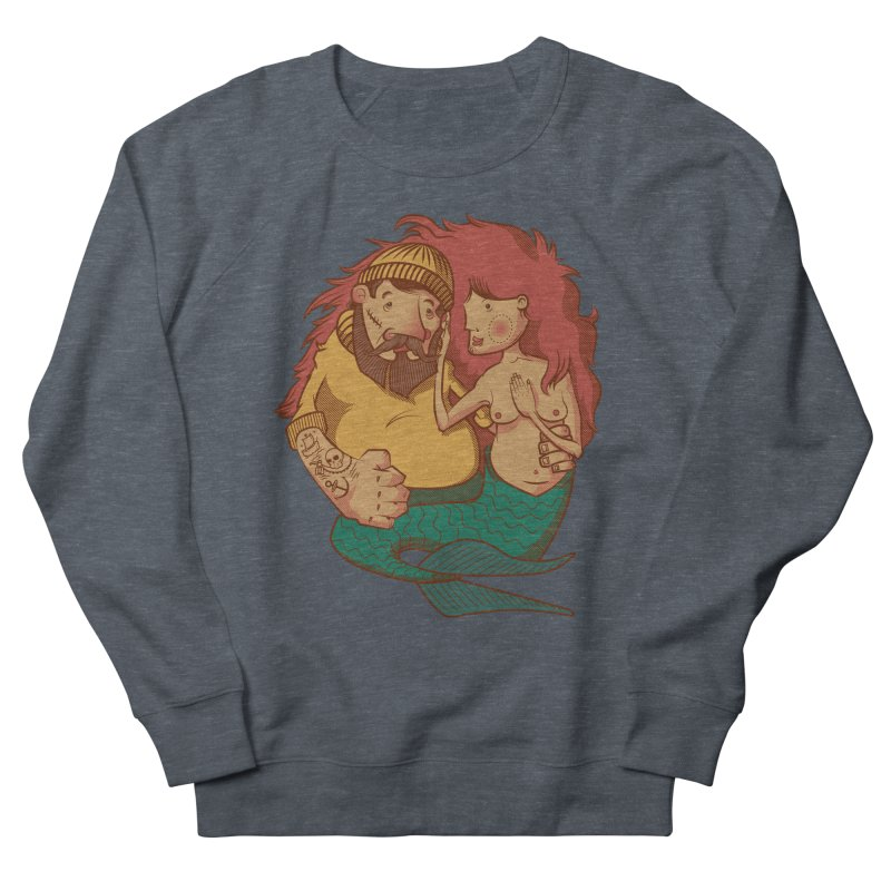 The Mariner and the Maiden Men's French Terry Sweatshirt by Jesse Nickles