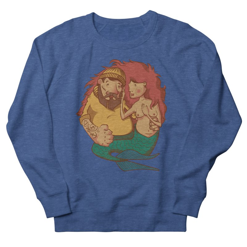 The Mariner and the Maiden Men's Sweatshirt by Jesse Nickles