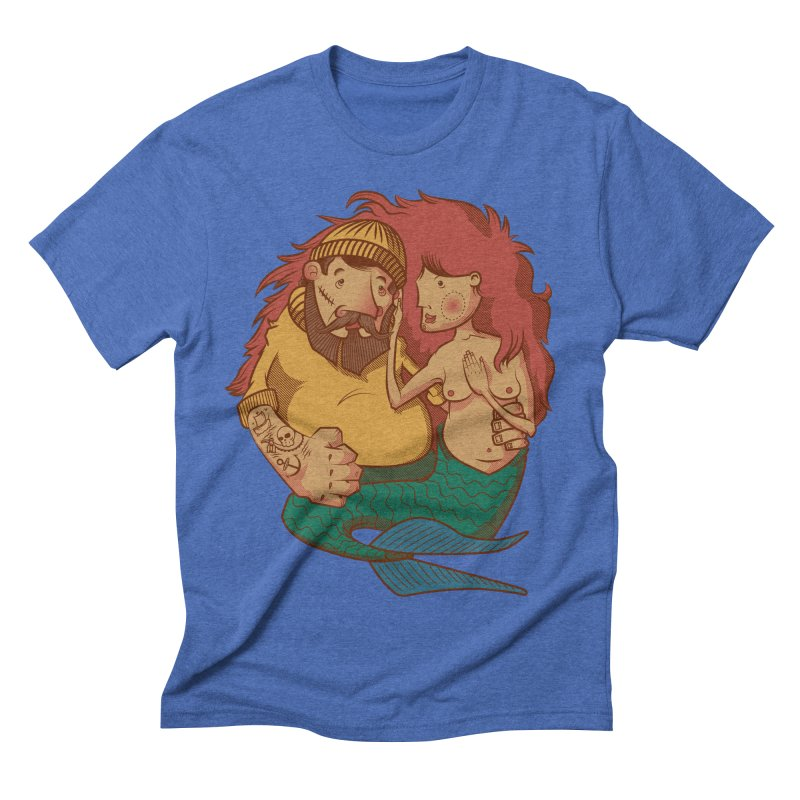 The Mariner and the Maiden Men's Triblend T-shirt by Jesse Nickles