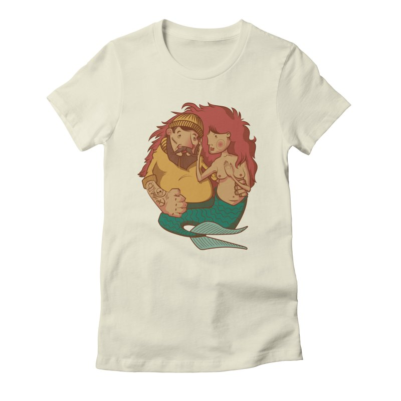 The Mariner and the Maiden Women's Fitted T-Shirt by Jesse Nickles
