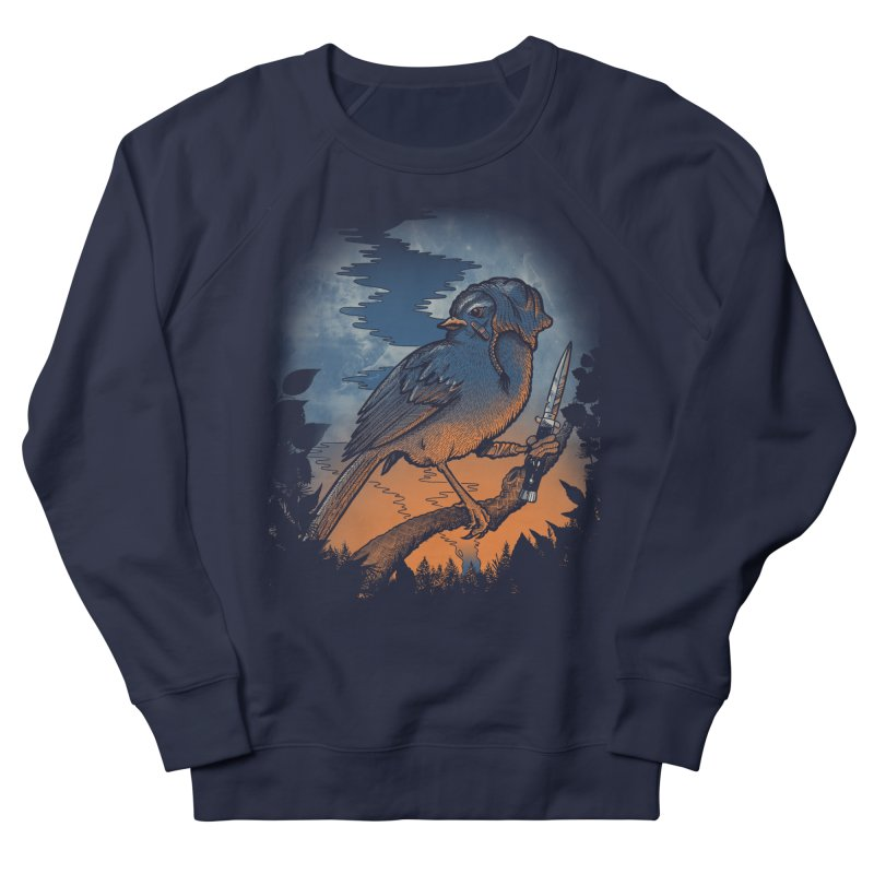 Tales from the Wood Vol. 1 Women's French Terry Sweatshirt by Jesse Nickles