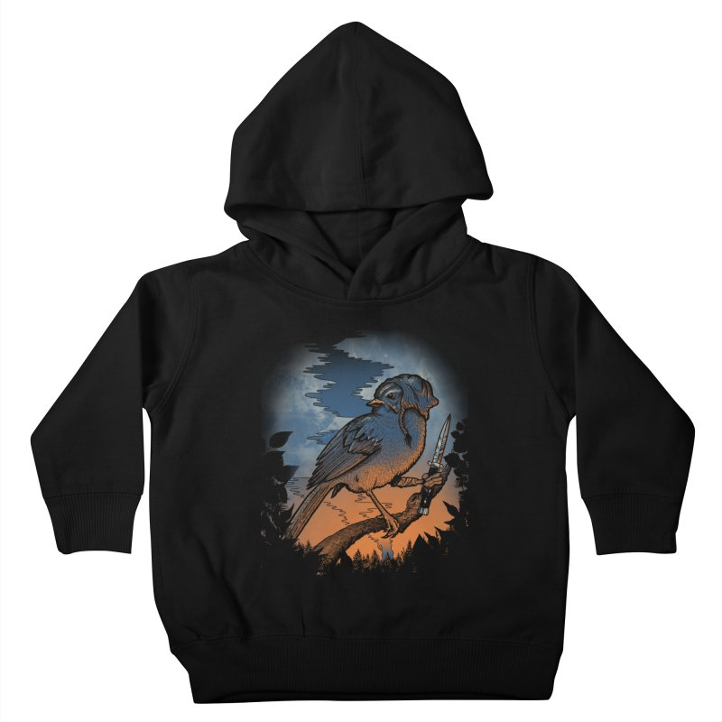 Tales from the Wood Vol. 1 Kids Toddler Pullover Hoody by Jesse Nickles