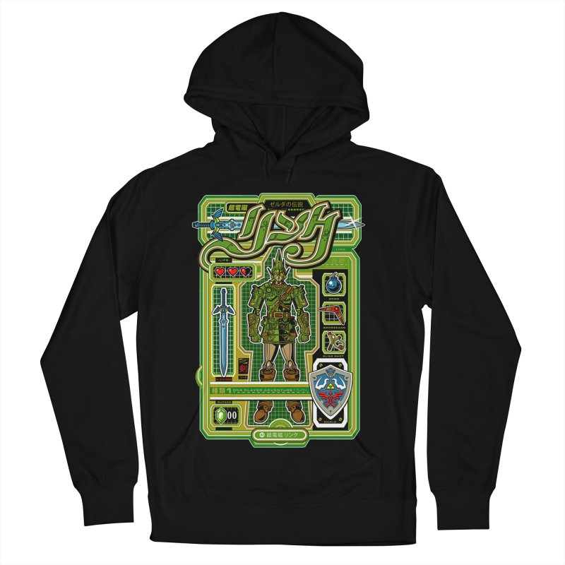 A Link to the Future Women's French Terry Pullover Hoody by Jesse Philips' Artist Shop