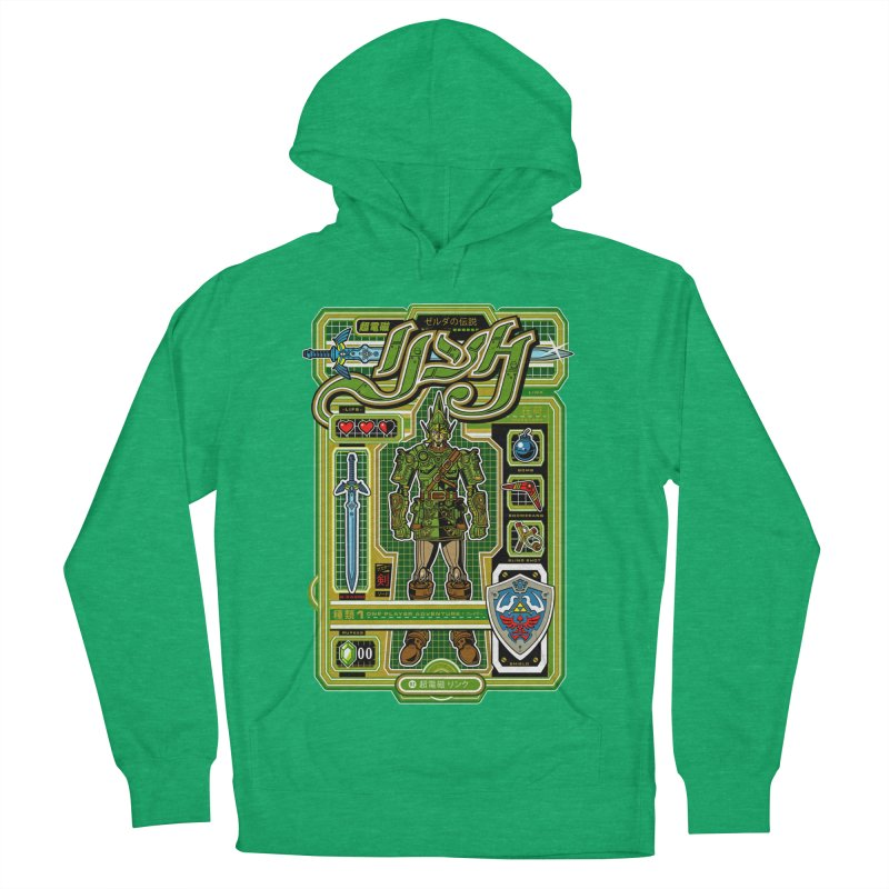 A Link to the Future Men's French Terry Pullover Hoody by Jesse Philips' Artist Shop