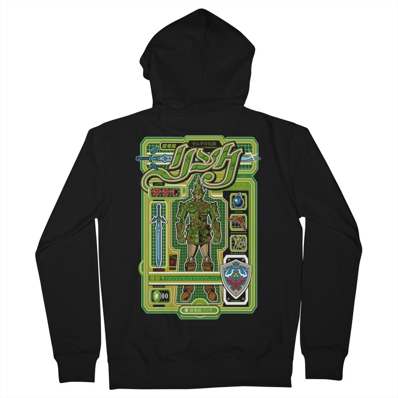 A Link to the Future Women's Zip-Up Hoody by Jesse Philips' Artist Shop