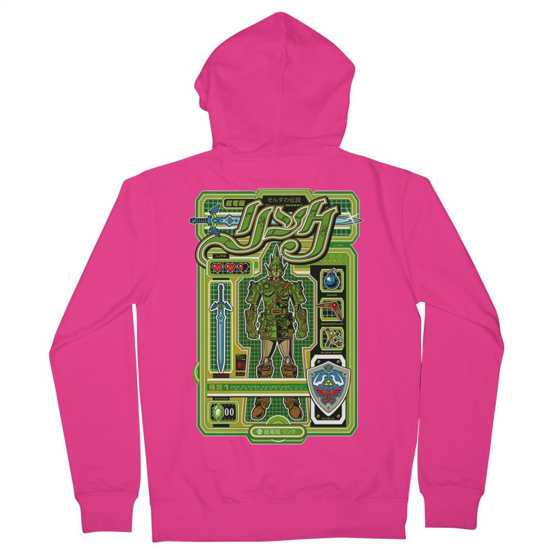 A Link to the Future Men's Zip-Up Hoody by Jesse Philips' Artist Shop