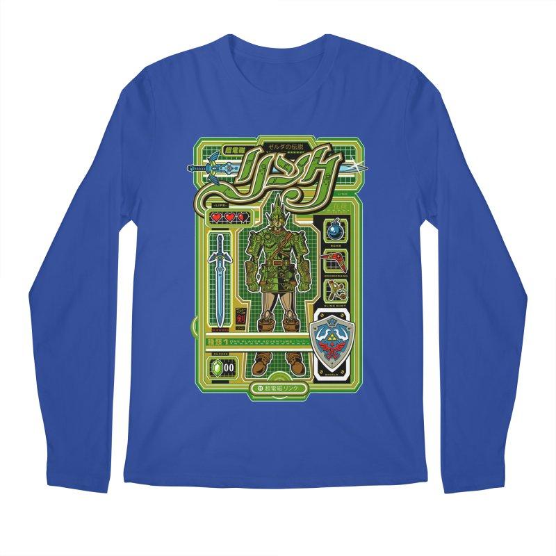 A Link to the Future Men's Regular Longsleeve T-Shirt by Jesse Philips' Artist Shop