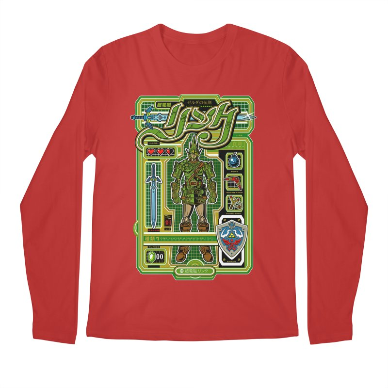 A Link to the Future Men's Longsleeve T-Shirt by Jesse Philips' Artist Shop