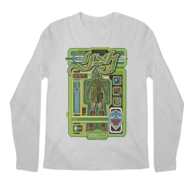 A Link to the Future Men's Regular Longsleeve T-Shirt by Jesse Philips' Artist Shop