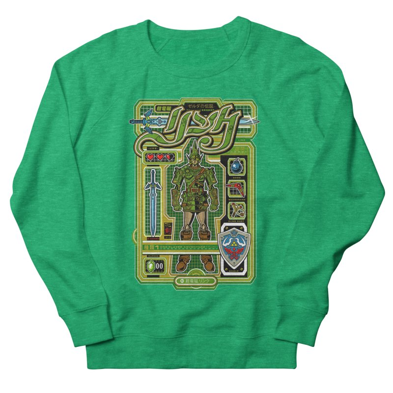 A Link to the Future Women's French Terry Sweatshirt by Jesse Philips' Artist Shop