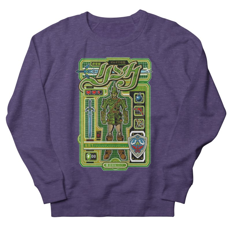 A Link to the Future Men's French Terry Sweatshirt by Jesse Philips' Artist Shop