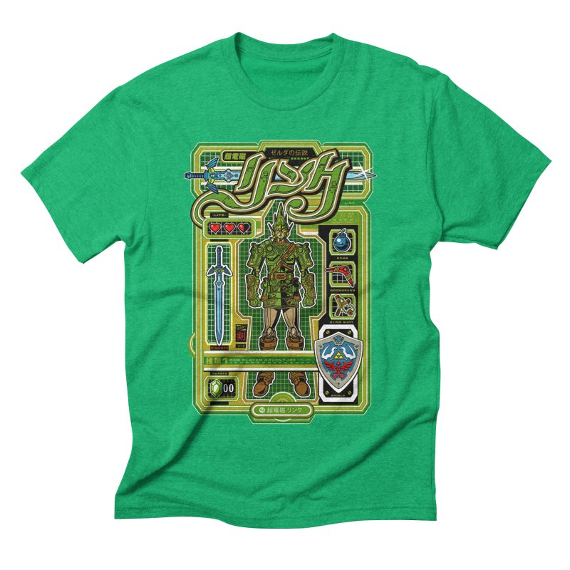 A Link to the Future Men's Triblend T-shirt by Jesse Philips' Artist Shop