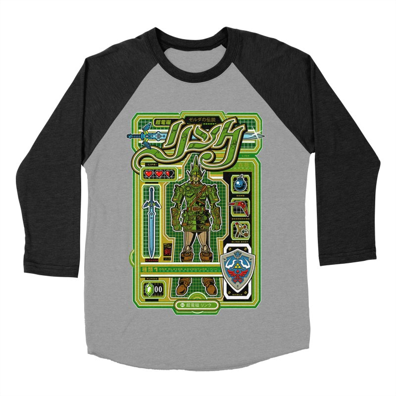 A Link to the Future Men's Baseball Triblend Longsleeve T-Shirt by Jesse Philips' Artist Shop