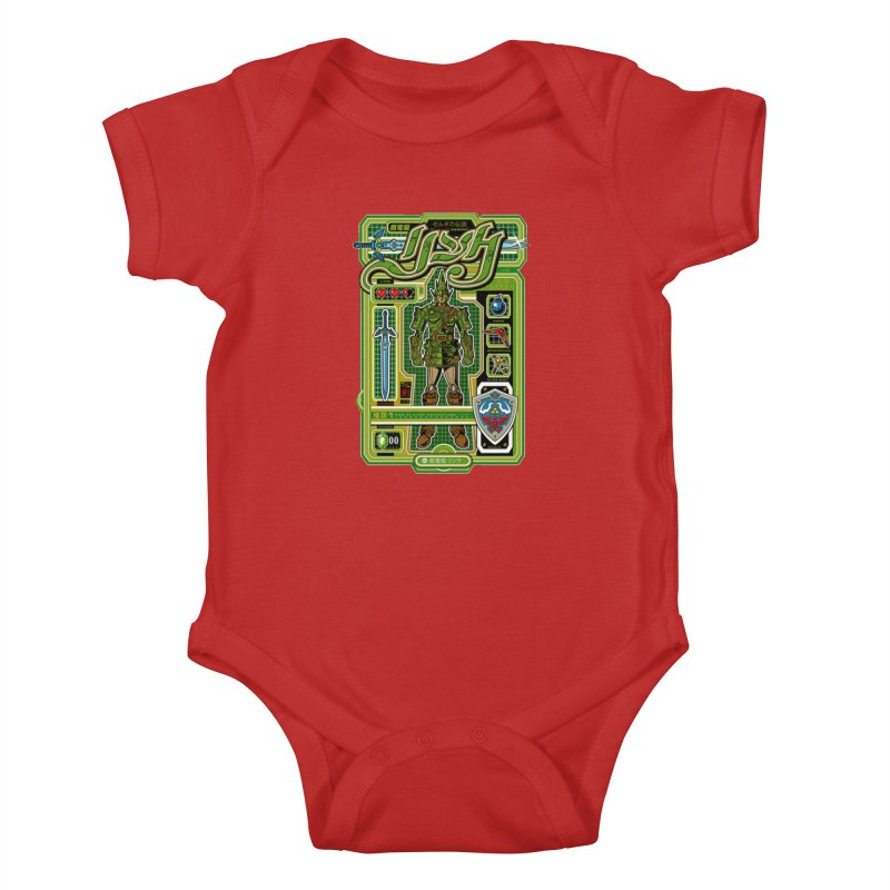 A Link to the Future Kids Baby Bodysuit by Jesse Philips' Artist Shop