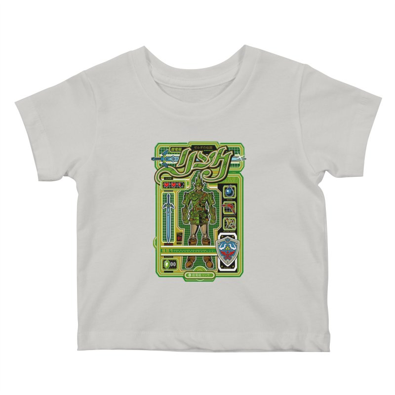 A Link to the Future Kids Baby T-Shirt by Jesse Philips' Artist Shop