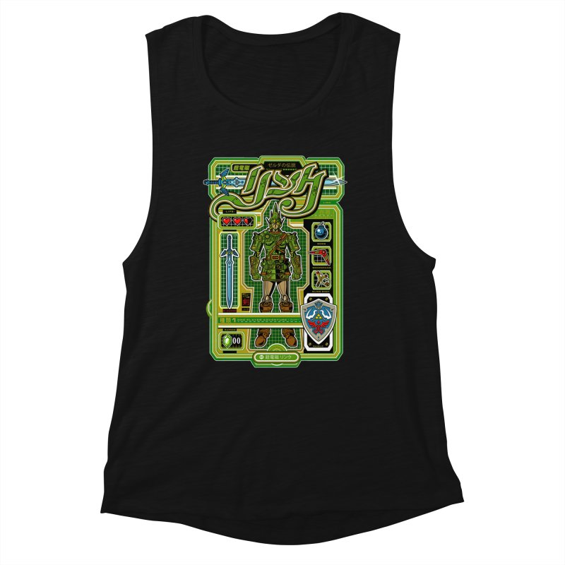 A Link to the Future Women's Tank by Jesse Philips' Artist Shop