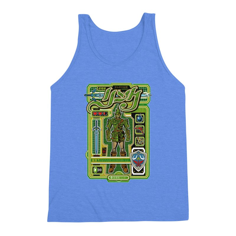 A Link to the Future Men's Triblend Tank by Jesse Philips' Artist Shop