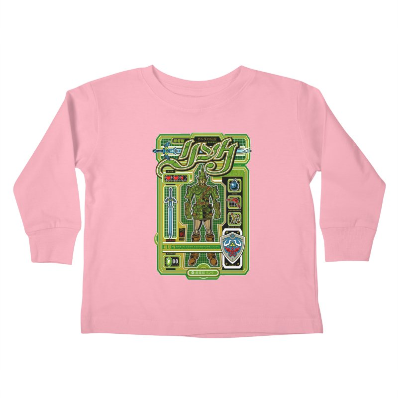 A Link to the Future Kids Toddler Longsleeve T-Shirt by Jesse Philips' Artist Shop