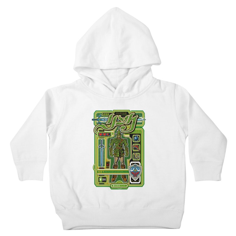 A Link to the Future Kids Toddler Pullover Hoody by Jesse Philips' Artist Shop