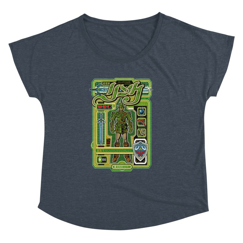 A Link to the Future Women's Dolman by Jesse Philips' Artist Shop