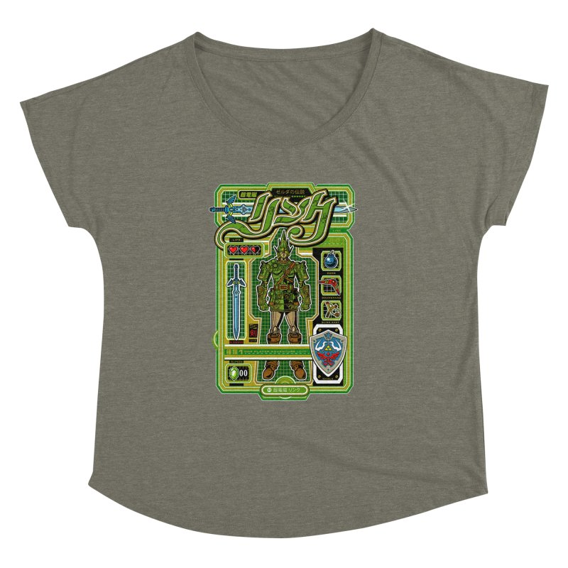 A Link to the Future Women's Dolman Scoop Neck by Jesse Philips' Artist Shop