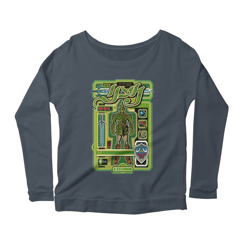 A Link to the Future Women's Scoop Neck Longsleeve T-Shirt by Jesse Philips' Artist Shop