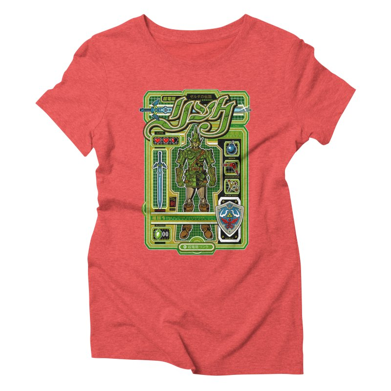 A Link to the Future Women's Triblend T-Shirt by Jesse Philips' Artist Shop