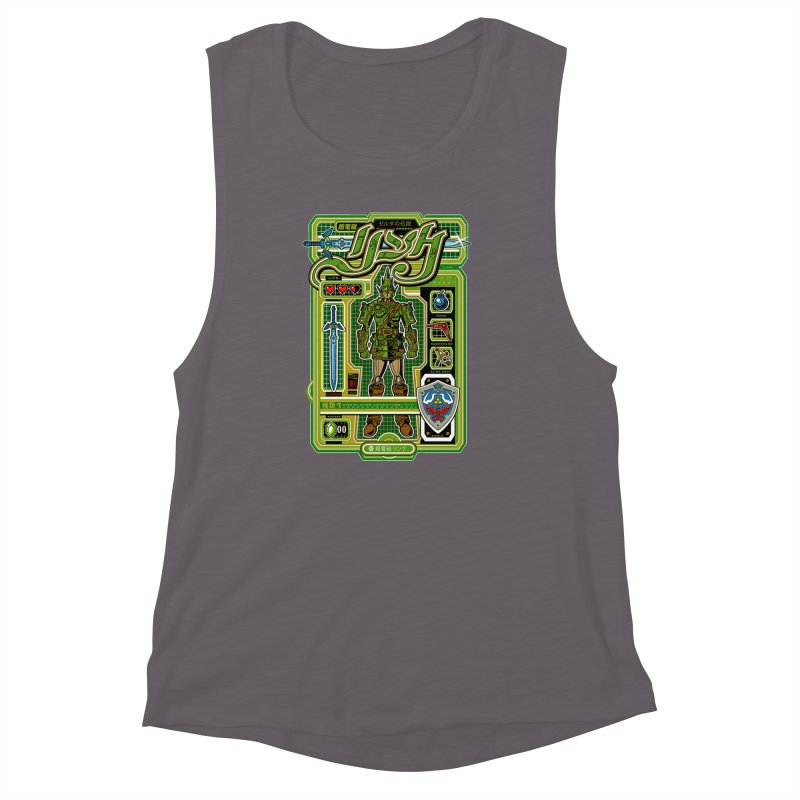 A Link to the Future Women's Muscle Tank by Jesse Philips' Artist Shop