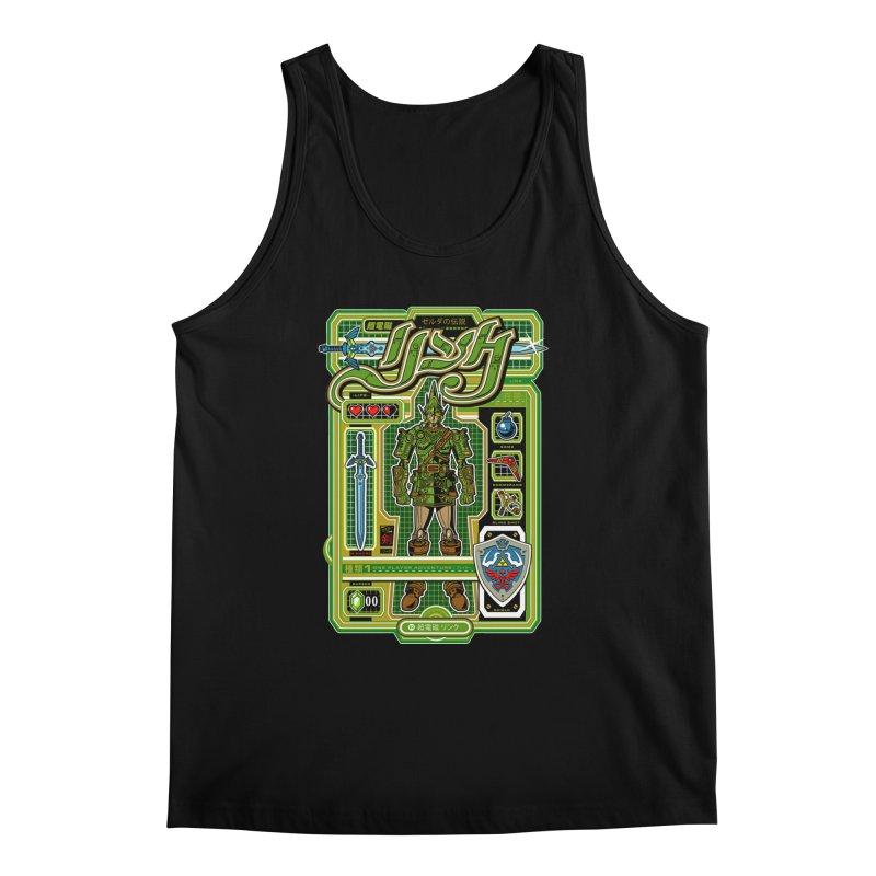 A Link to the Future Men's Regular Tank by Jesse Philips' Artist Shop