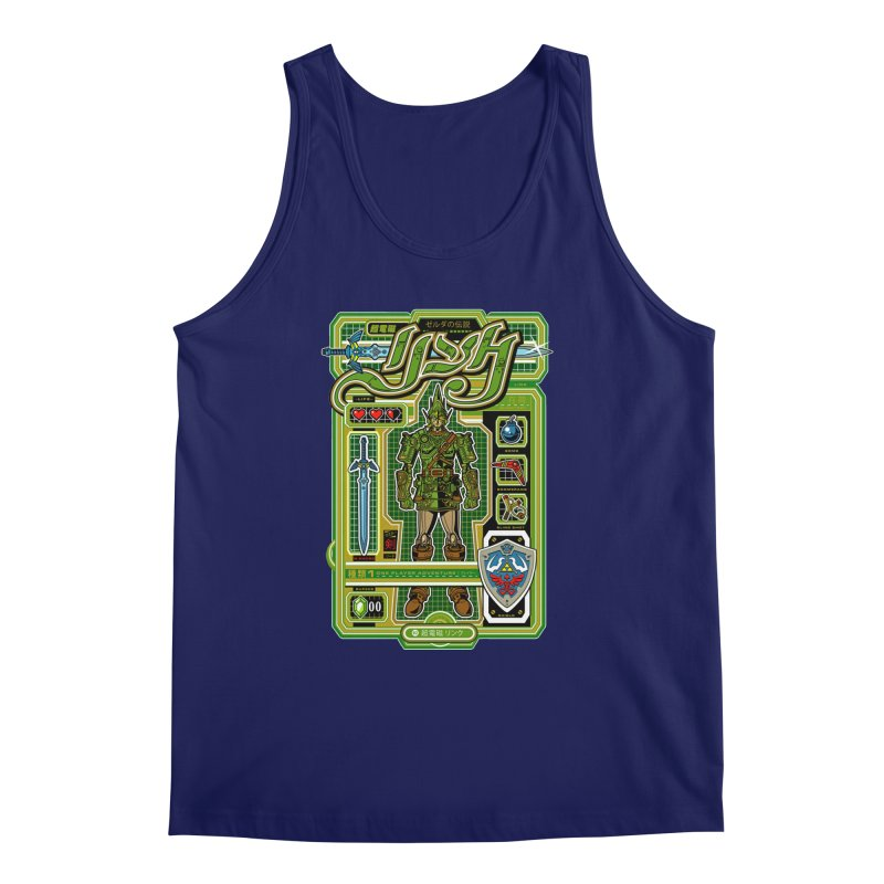 A Link to the Future Men's Tank by Jesse Philips' Artist Shop