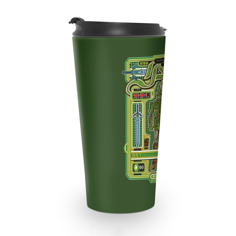 A Link to the Future Accessories Travel Mug by Jesse Philips' Artist Shop