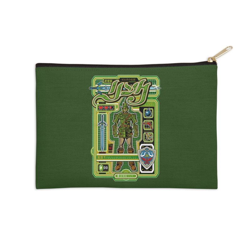 A Link to the Future Accessories Zip Pouch by Jesse Philips' Artist Shop