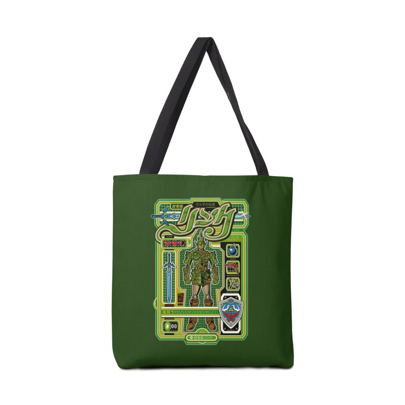 A Link to the Future Accessories Bag by Jesse Philips' Artist Shop