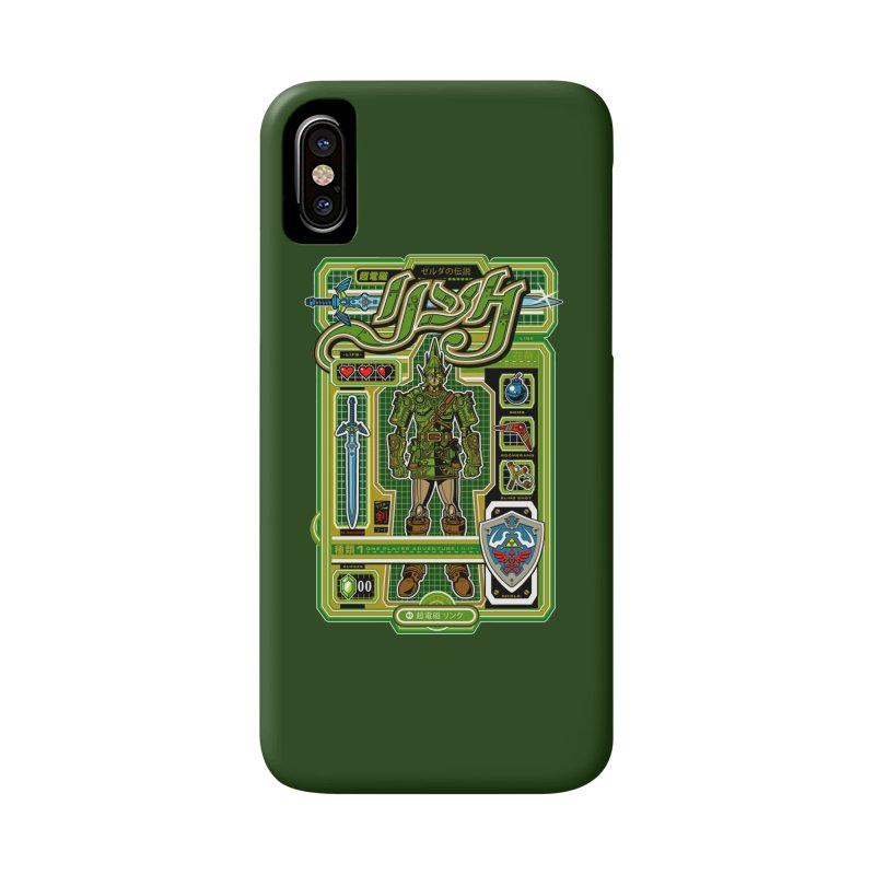 A Link to the Future Accessories Phone Case by Jesse Philips' Artist Shop