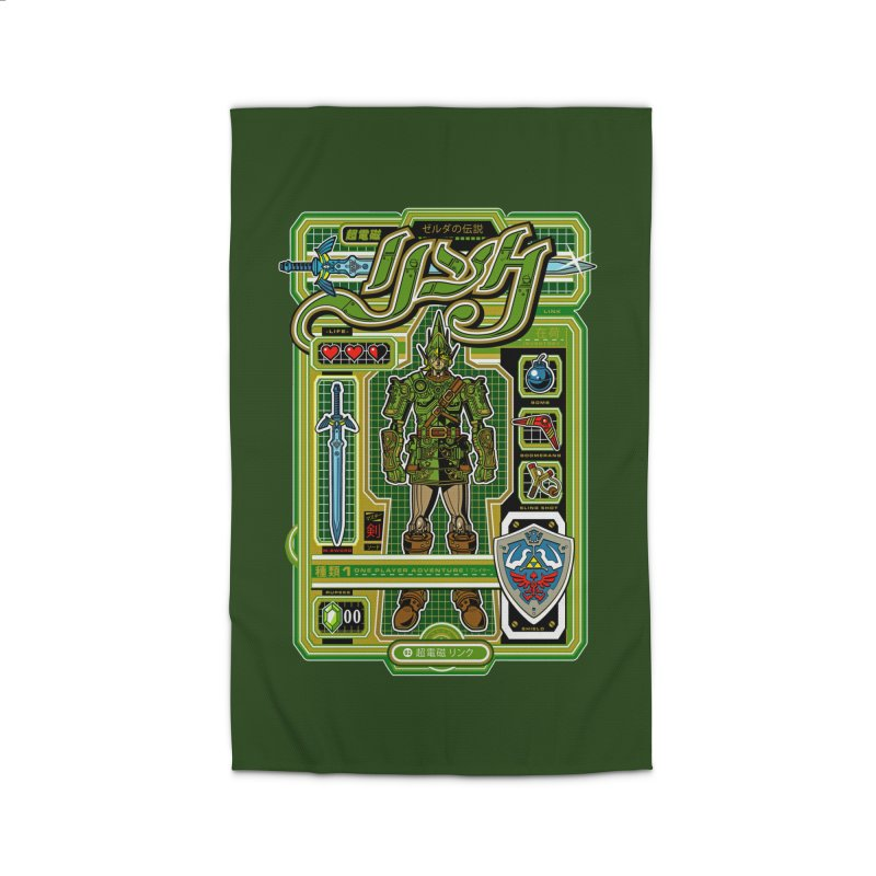 A Link to the Future Home Rug by Jesse Philips' Artist Shop