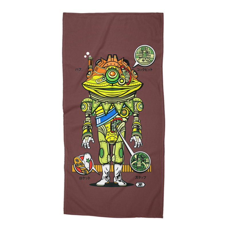 Mecha Puff N' Stuff Accessories Beach Towel by Jesse Philips' Artist Shop