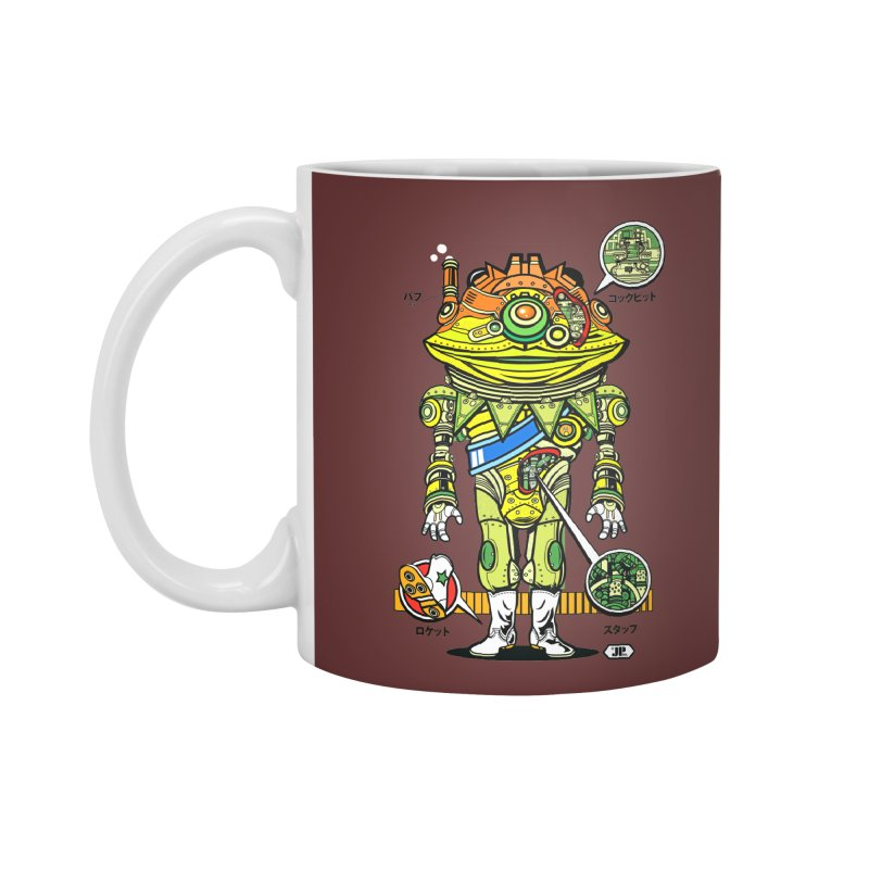 Mecha Puff N' Stuff Accessories Mug by Jesse Philips' Artist Shop