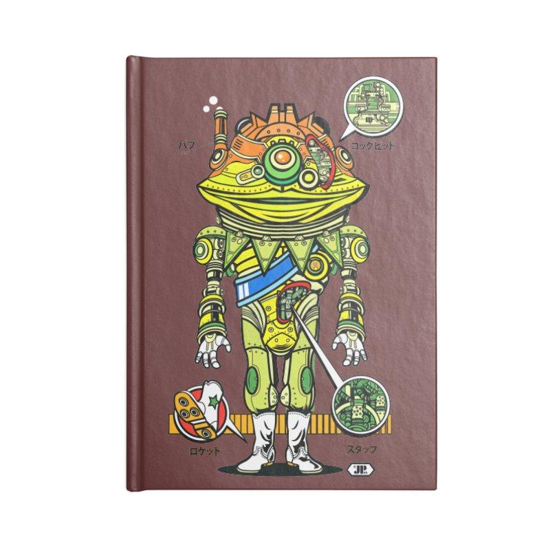 Mecha Puff N' Stuff Accessories Notebook by Jesse Philips' Artist Shop